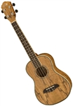 Oscar Schmidt OU7TLH Left Handed Spalted Mango Tenor Ukulele Uke with Gig Bag