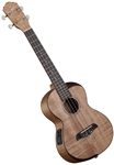 Oscar Schmidt OU800TE Comfort Series Flame Maple Top Tenor Acoustic/Electric Ukulele Uke