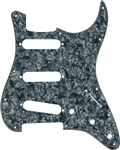 AXL PG-363-BK Strat Style Pearloid Electric Guitar Pickguard Pick Guard - Black