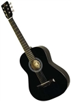 "Indiana Pinto 36"" Kids Jr. Acoustic Guitar w/ Bag"