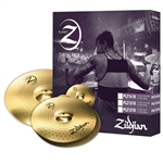 "Zildjian Planet Z PLZ1418 14"" HiHats 18"" Crash Ride Cymbal Box Set"