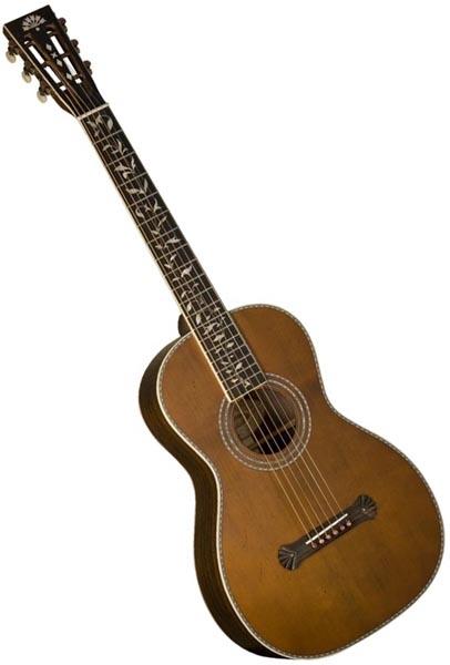 Washburn R320swrk All Solid Parlor Acoustic Guitar Vintage Matte W