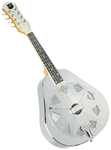 Recording King RA-998 Metal Body Resonator Mandolin w/ Hard Case