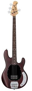 Sterling By Music Man RAY4-WS-R1 StingRay 4-String Electric Bass Guitar - Walnut Satin