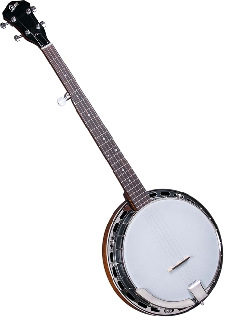 String Instruments Nickel Golden Gate P-115 No-Knot Style Banjo