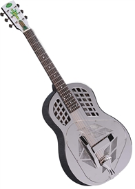 Regal RC-51 Metal Body Tricone Style 1 Resonator Guitar Roundneck