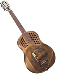 Regal RC-56 Copper Finish Metal Body Bell Brass Tricone Resonator Guitar