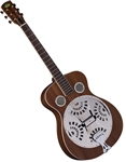Regal RD-30M Studio Series Dobro Resonator Guitar - Mahogany Roundneck