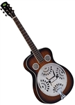 Regal RD-30T Studio Series Dobro Resonator Guitar Sunburst Roundneck