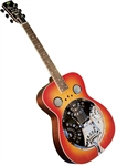 Regal RD-40CH Dobro Resonator Guitar - Cherry Roundneck