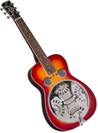 Regal RD-40CHS Squareneck Dobro Resonator Guitar - Cherry Square Neck