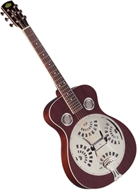Regal RD-40M Roundneck Dobro Resonator Guitar - Mahogany
