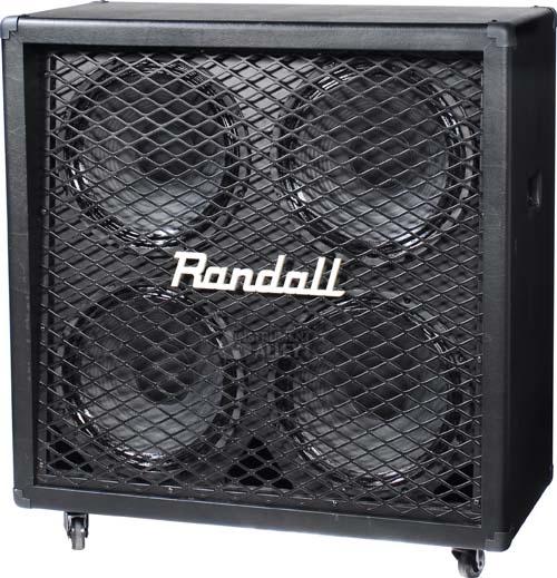 Randall Diavlo Series RD412-D 320W 4x12 Guitar Speaker Cabinet Cab Stack