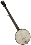 "Recording King RK-OT25-BR ""Madison"" Open Back 5-String Banjo Scooped Fretboard"