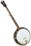 Recording King RK-R35-BR Madison 5-String Bluegrass Banjo w/ Case