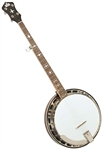 "Recording King RK-R36-BR ""Madison"" 5-String Bluegrass Banjo w/ Case - Mahogany"
