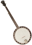 Recording King RKH-05 Dirty Thirties 5 String Resonator Banjo w/ Hard Case