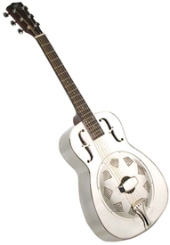 Recording King RM-998-R Style-O Roundneck Bell Brass Resonator Guitar - Round Hole Coverplate. Free case and shipping!