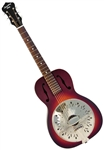 Recording King RPH-R1 Single 0 Body Roundneck Resonator Guitar