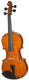 Meisel 6106A Handcrafted Violin Outfit with Case and Glasser Bow