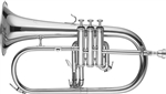 RS Berkeley FLU669 Artist Series Silver Plated Flugelhorn with Case, Stand, Care Kit