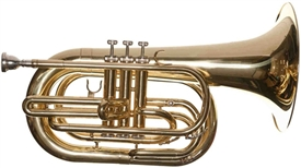 RS Berkeley MAR678 Artist Series Lacquer Marching Baritone Horn with Mouthpiece and Case