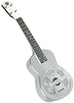 Recording King RU-998 Metal Body Resonator Ukulele w/ Case