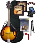 "Savannah SA-100 ""Lynchburg"" F-Hole Mandolin ""Delta"" Package"