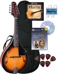 "Johnson MA-100 ""Lynchburg"" F-Hole Mandolin Beginner Package"