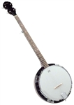 Savannah SB-100 24 Bracket 5 String Banjo w/ Mahogany Resonator