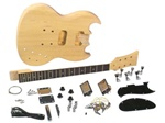 Saga SG-10 Do It Yourself SG Style Build Your Own Guitar Kit - Builders Package