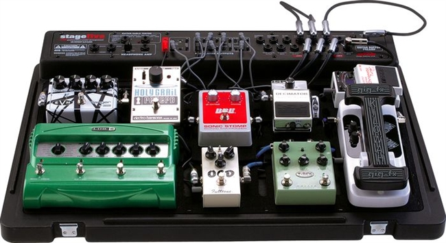SKB SKBPS55 Stage Five Effects Pedalboard W Hard Case