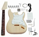 Saga Do It Yourself S Style ST-10 Build Your Own Guitar Kit - Builders Package