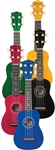 Savannah SU-105 Soprano Ukulele Uke Red Yellow Blue Green Black Red
