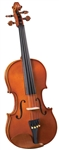 Cremona SV-140 Premier Novice Violin Flamed Back Outfit w/ Case and Bow 1/2, 1/4, 1/10, 1/16