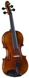 Cremona SV-500 Premier Artist Violin Outfit w/ Case and Bow 4/4-1/4