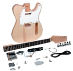 Saga Do It Yourself T Style TC-10 Build Your Own Guitar Kit - Builders Package