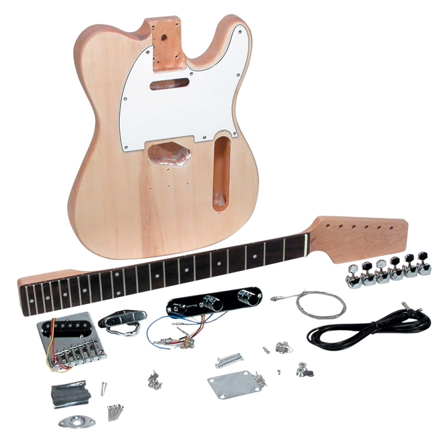 Saga do it yourself t style tc 10 build your own guitar kit saga do it yourself t style tc 10 build your own guitar kit builders package solutioingenieria Gallery