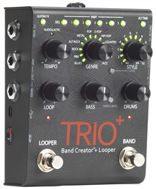 Digitech TRIO + Plus Band Creator Looper Effects Pedal FX Stompbox