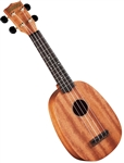 Hamano U-320P Deluxe Soprano Pineapple Ukulele Uke Bundle with DVD & Bag