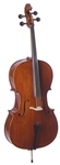 "Palatino VC-850 ""Dolce"" Solid Carved Professional Cello Outfit. Free Shipping!"