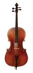 "Palatino VC-950 ""Anziano"" Solid Carved Professional Cello Outfit Flamed Maple Back/Sides. Free Shipping!"