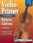 Violin Primer Deluxe Edition - Learn the Violin Book, DVD and Audio CD Lesson Combo Violin for Beginners