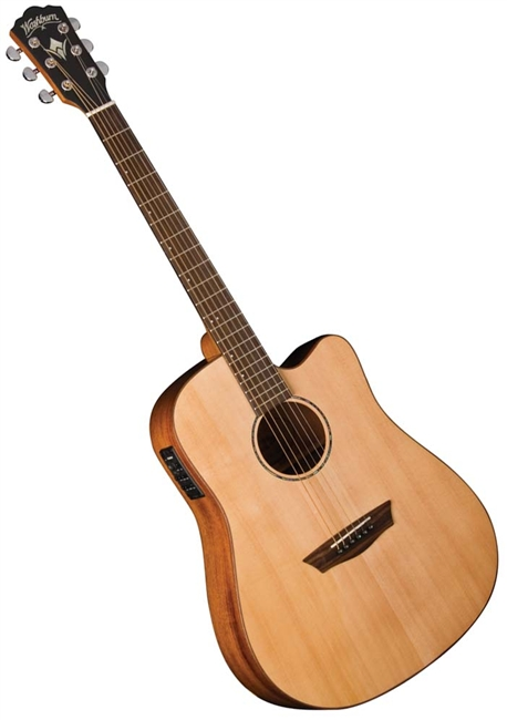 washburn wd150swce timber ridge solid acoustic electric guitar w case. Black Bedroom Furniture Sets. Home Design Ideas