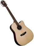 Washburn WD250SWCE Timber Ridge Solid Acoustic/Electric Guitar w/ Case