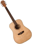 Washburn WD7S Dreadnought Acoustic Guitar Harvest Series