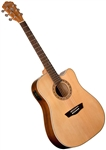 Washburn WD7SCE Dreadnought Acoustic Electric Guitar Harvest Series