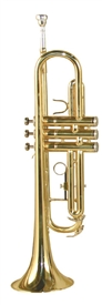Palatino B Flat European Bell Brass Trumpet - US Inspected Adjusted