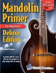 Watch and Learn Mandolin Primer Deluxe Edition Instructional Book with DVD and Audio CDs