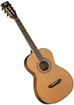 Washburn WP11SNS Solid Cedar Top Parlor Acoustic Guitar